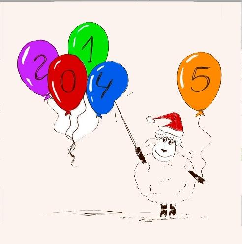 З новим роком вівці 2015