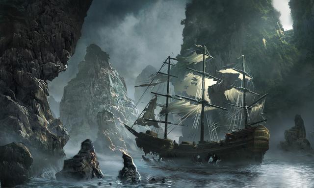 Пиратский корабль картинки - 91e5
