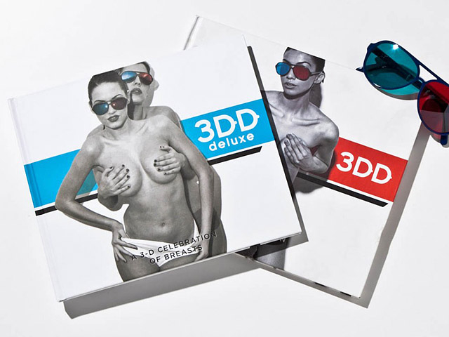 3D фото женской груди от Генри Харгривза Генри Харгривз, американский