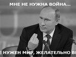 Картинка про Путина и Мир