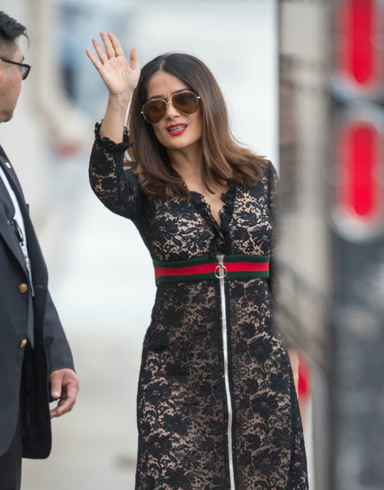 Образ Сальми Хайек в Gucci: за чи проти?