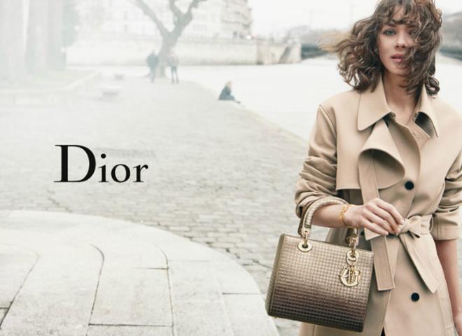 Маріон Котійяр у новій рекламі сумок Dior