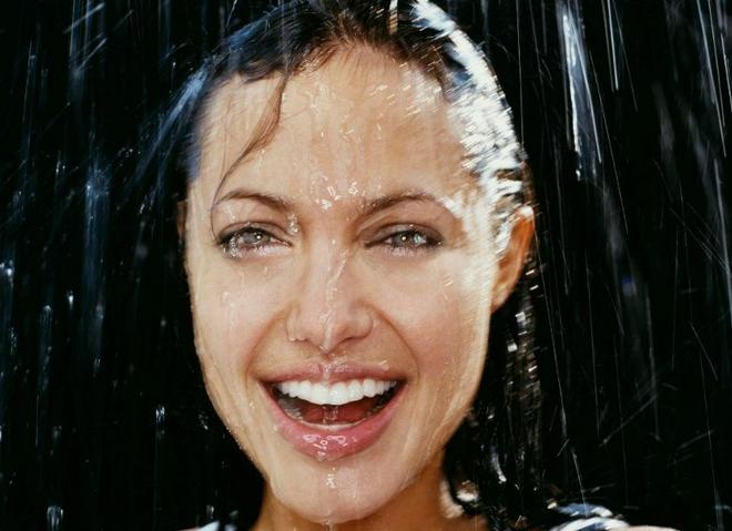 Прическа во время дождя
