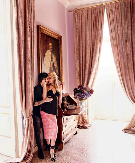 Італійські канікули: Джіджі Хадід та Зейн Малік у зйомці Vogue