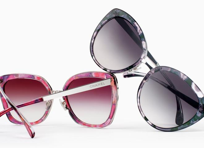 Нові оправи в окулярах Chanel