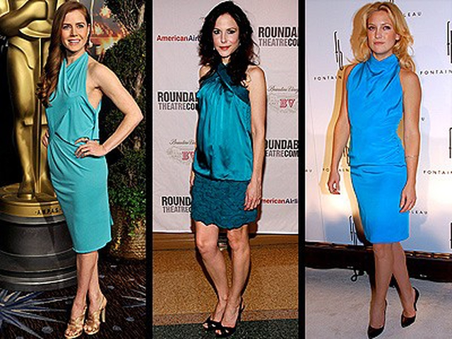 TURQUOISE DRESSES photo Amy Adams, Kate Hudson, Mary-Louise Parker.