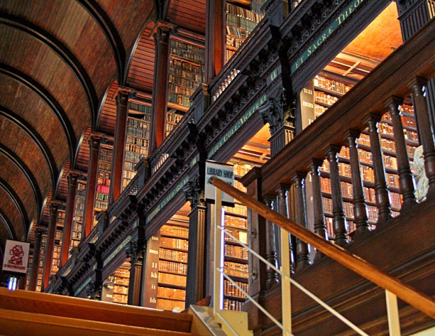 Cамые красивые библиотеки: Тринити-колледж, дублин