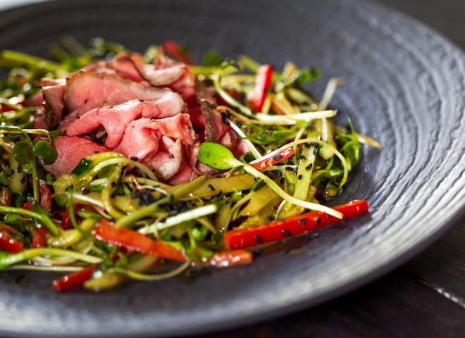 Китайский салат на год Обезьяны 2016