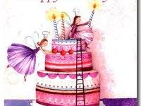 Милая открытка на день рождения