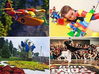 Выходные с детьми: куда пойти 30-31 августа