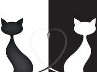 Романтические кошки