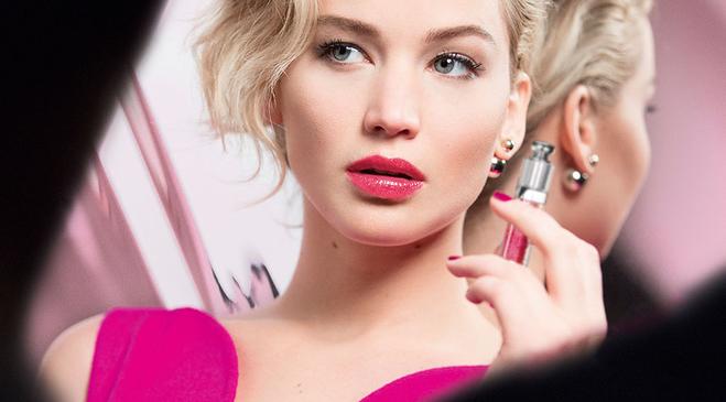 Дженніфер Лоуренс представила нову лінію блисків Dior (фото)