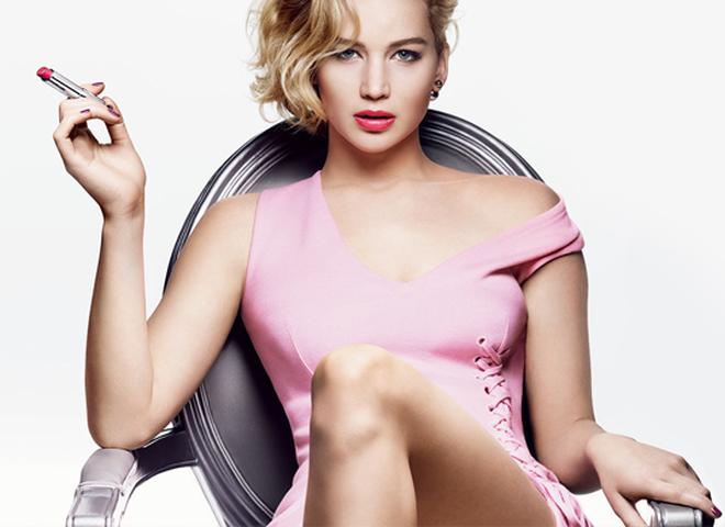 Дженніфер Лоуренс рекламує нову лінійку помад Dior Addict Lipstick (відео)