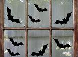 Украсить дом на Хэллоуин, летучие мыши