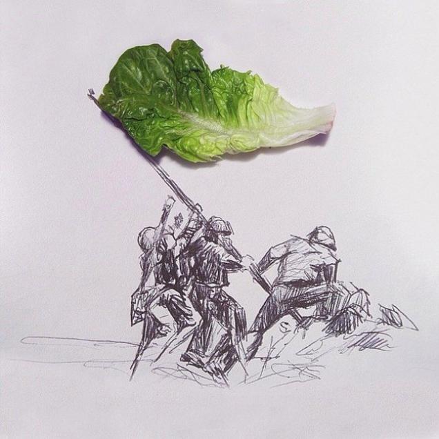 Креативные рисунки от Rafael Mantesso's