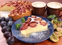 Готовим нежный миндально-сливовый пирог