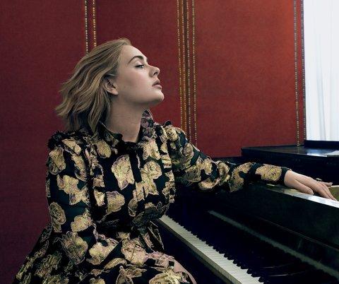Адель для Vogue