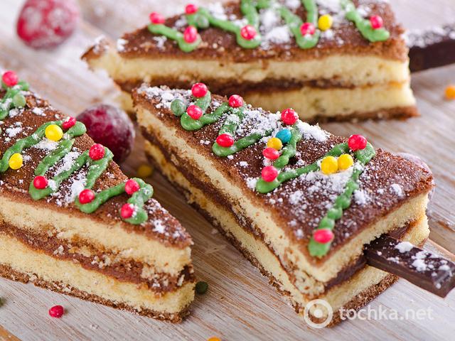 О том какой торт на новый год 2015