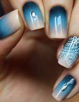 Индийский маникюр: мехенди на ногтях