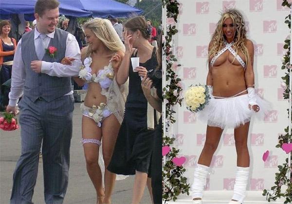 ТОП жутких свадебных платьев
