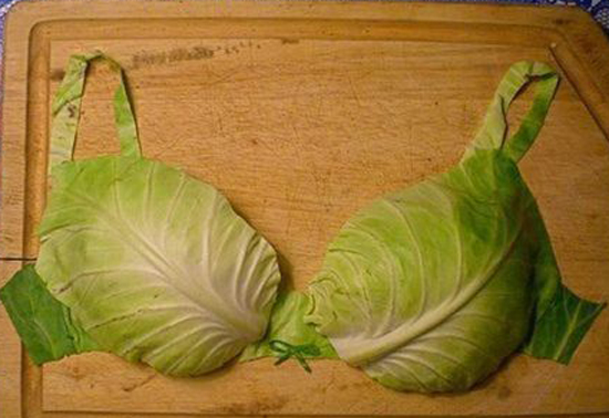 Прикольная подборка капустных бюстгалтеров