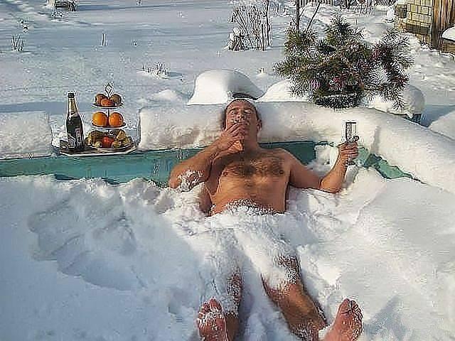 Отпуск зимой это волшебно