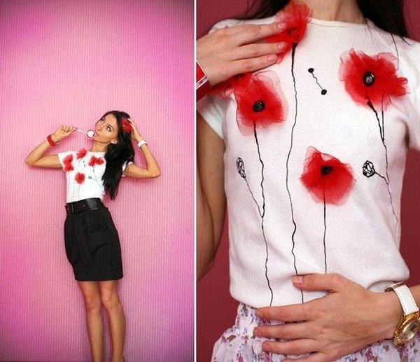 Интересный дизайн для футболок своими руками 680