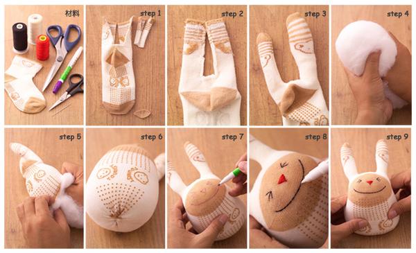 Выкройки мягких игрушек своими руками из носков