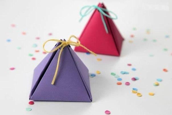 Мини-коробочки для сердечных подарочков своими руками