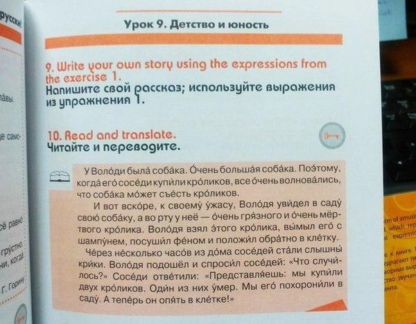 Учебник русского языка для иностранцев.