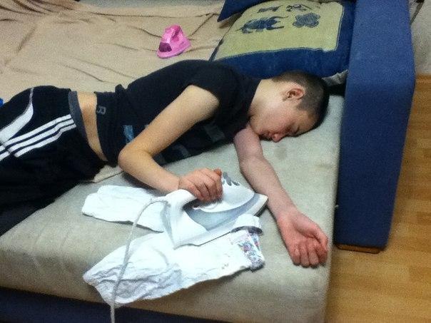 Когда уснул после Нового года