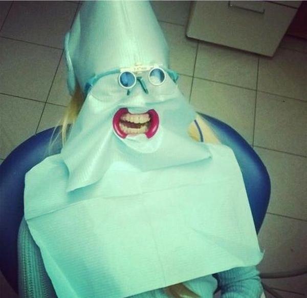 Стоматолог боится вас не меньше, чем вы его.