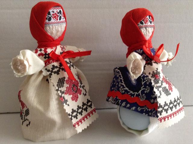 Куколки на пасхальные яйца своими руками