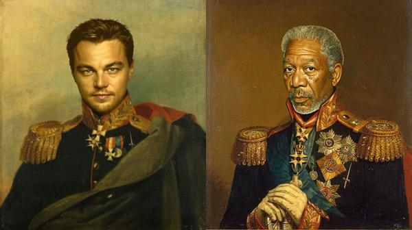 Если бы знаменитости были военными генералами 19 века
