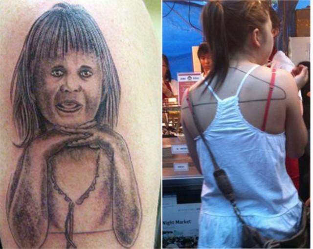 Татуировки, которые лучше не показывать