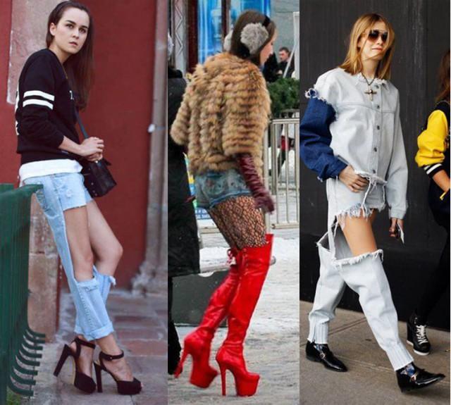 Уличная мода не для слабонервных
