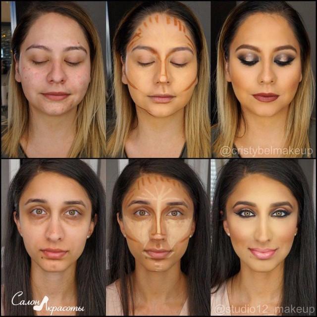 Как сделать что бы лицо было моложе