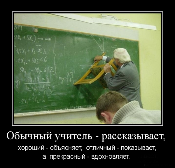 ТОП лучших демотиваторов ко дню учителя