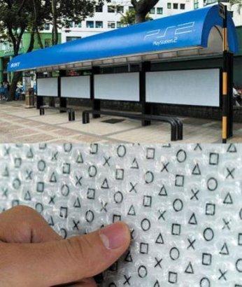 реклама на автобусах))