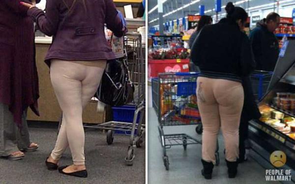 Модницы в супермаркетах