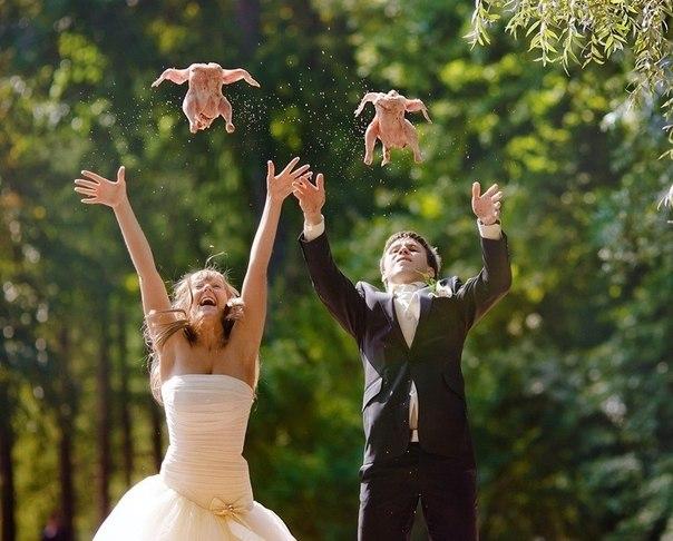 Что можно запустить на свадьбу