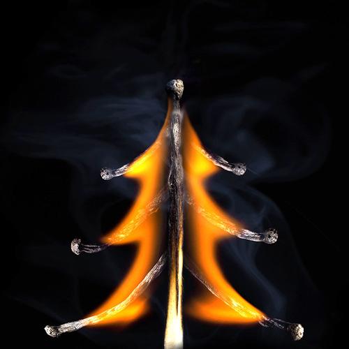 Шедевры со спичкой, огнём и дымом от Станислава Аристова