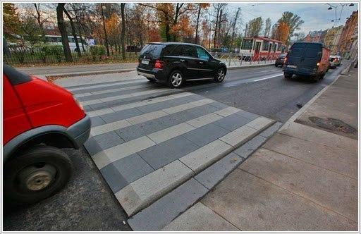 Правильный пешеходный переход!