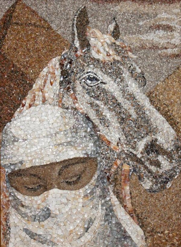 Потрясающие картины из морского песка и ракушек Светланы Иванченко